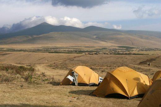 ngorongoro camping